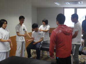 卒前研修 肩関節脱臼の整復・固定 2