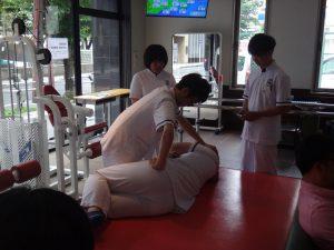 卒前研修 腰痛に対する脊椎のマニピュレーション
