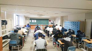 3年生 国家試験対策模擬試験実施